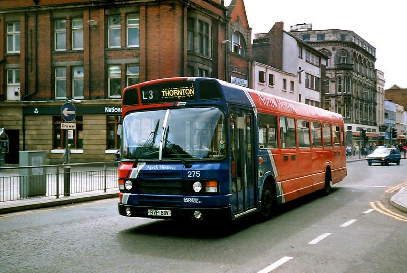 275 BVP811V, Liverpool 24/7/1991