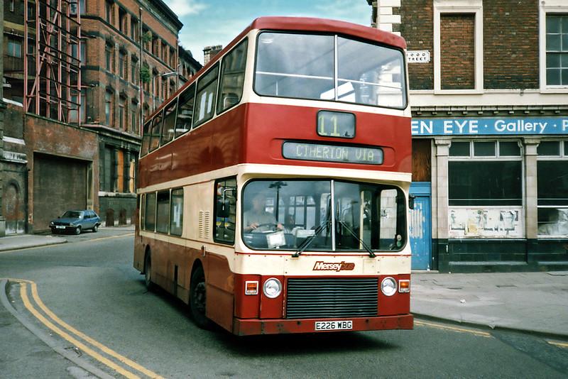 0226 E226WBG, Liverpool 24/7/1991