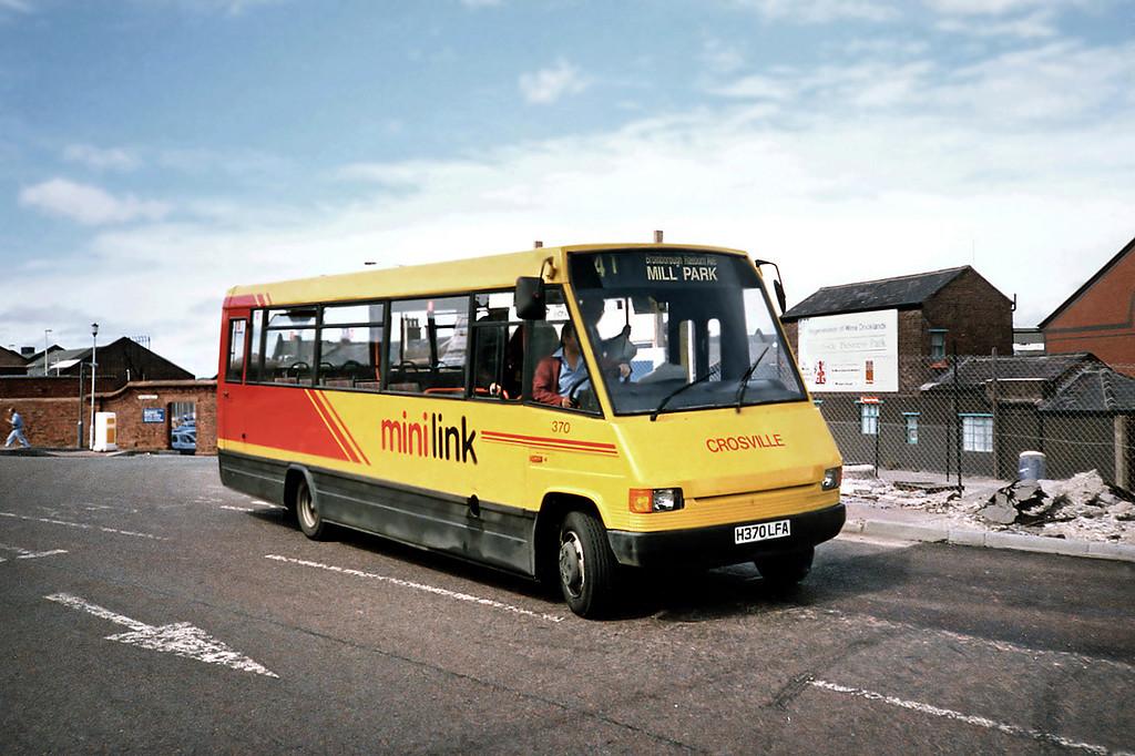 370 H370LFA, Birkenhead 24/7/1991