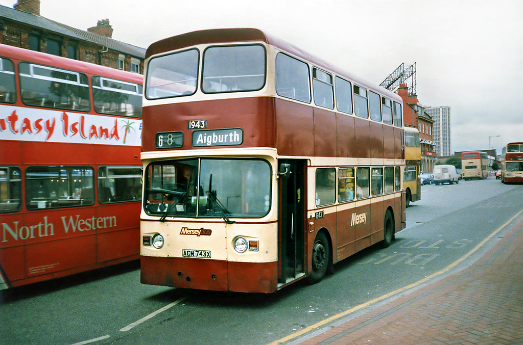 1943 ACM743X, Bootle 24/7/1991