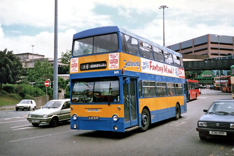 149 OJD194R, Liverpool 24/7/1991