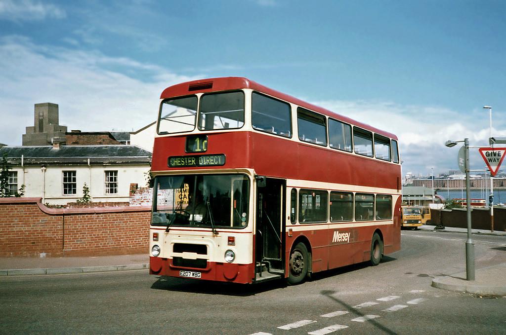 207 E207WBG, Birkenhead 24/7/1991