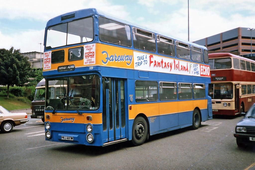 115 PRJ487R, Liverpool 24/7/1991