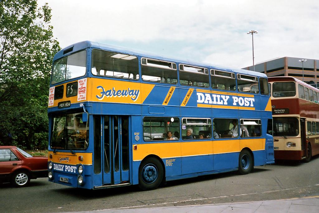126 YNA317M, Liverpool 24/7/1991