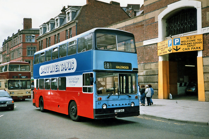 57 XRF24S, Liverpool 24/7/1991