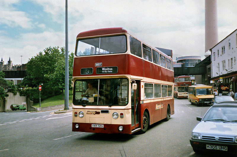 1807 PKA721S, Liverpool 24/7/1991