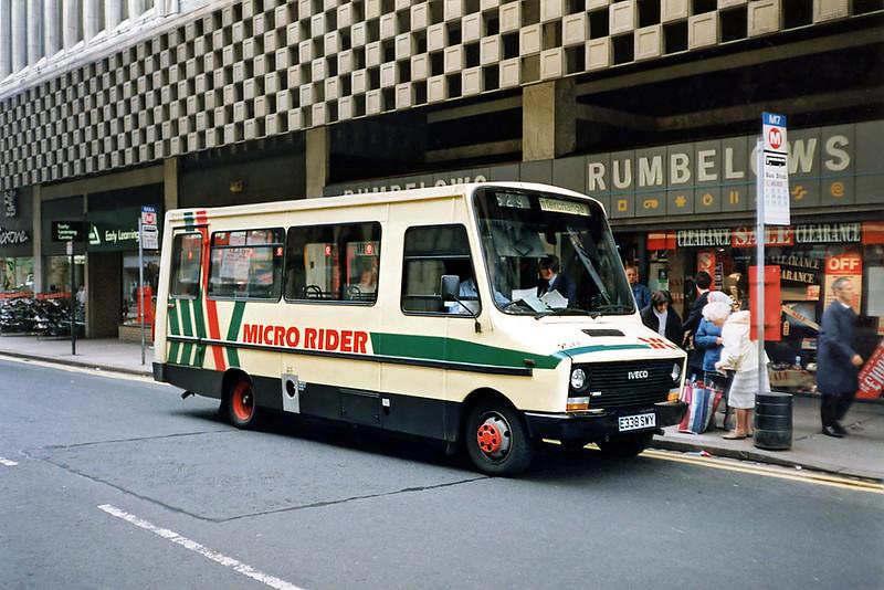 2077 E338SWY, Bradford 25/6/1991