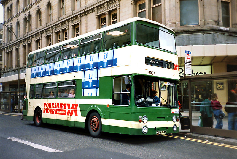6037 GUG564N, Bradford 25/6/1991