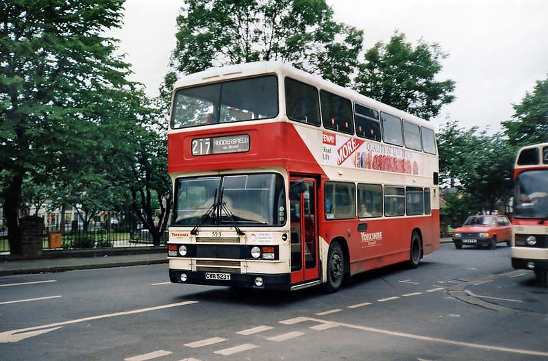 523 CWR523Y, Heckmondwike 25/6/1991