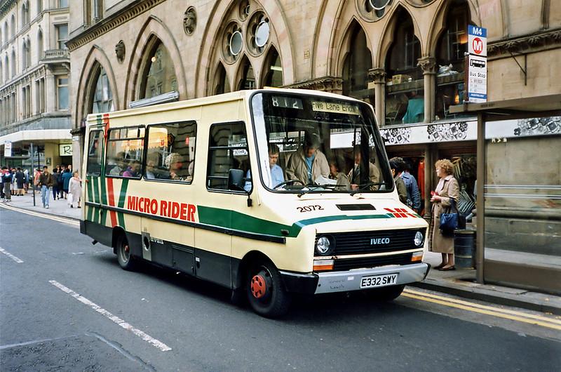 2072 E332SWY, Bradford 25/6/1991