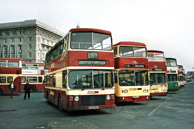 220 E220WBG, Liverpool 27/3/1991