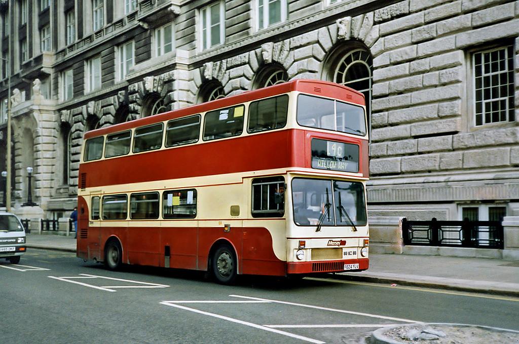 824 F824YLV, Liverpool 27/3/1991