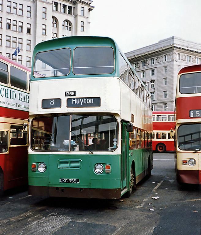 1355 DKC355L, Liverpool 27/3/1991