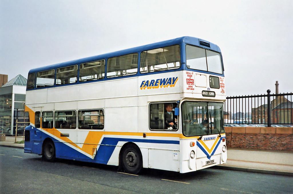 171 OBN510R, Liverpool 27/3/1991
