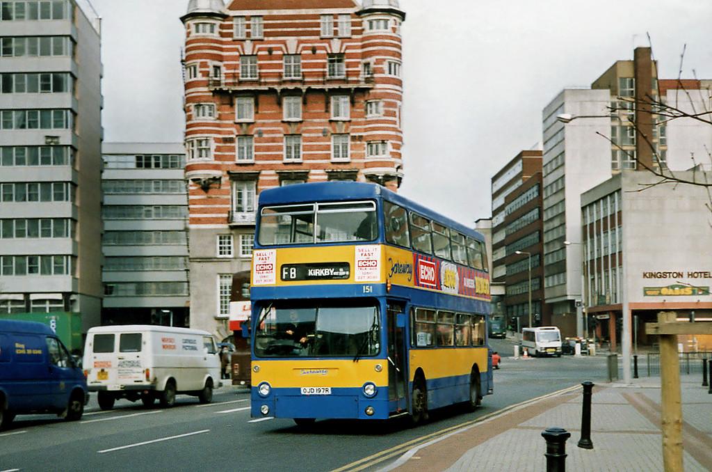 151 OJD197R, Liverpool 27/3/1991