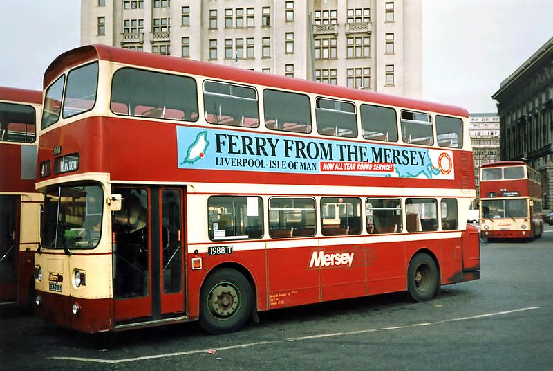 1988 DEM788Y, Liverpool 27/3/1991