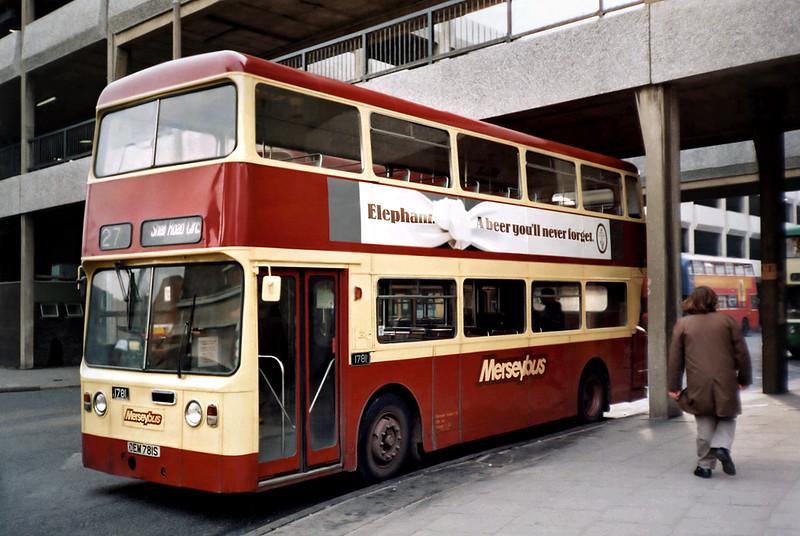 1781 OEM781S, Liverpool 27/3/1991