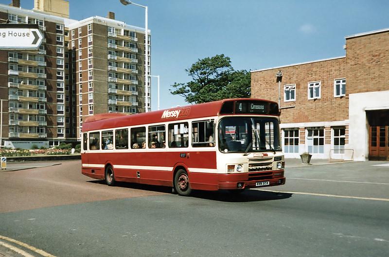 6137 WWM915W, Southport 28/6/1991