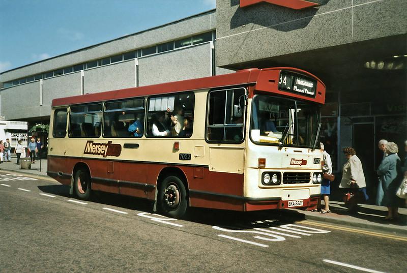 7022 EKA222Y, Southport 28/6/1991