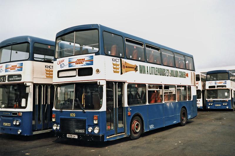 109 B109UAT, Hull 29/4/1991