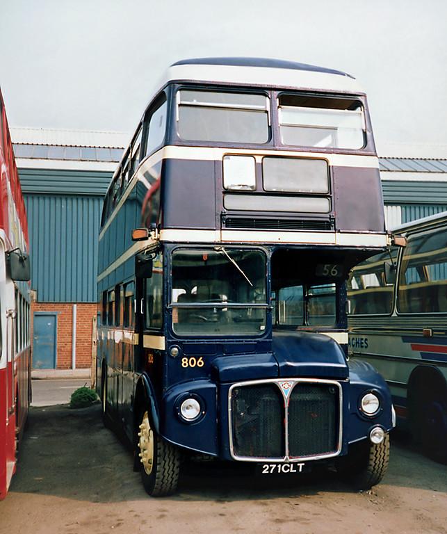 806 271CLT, Hull 29/4/1991