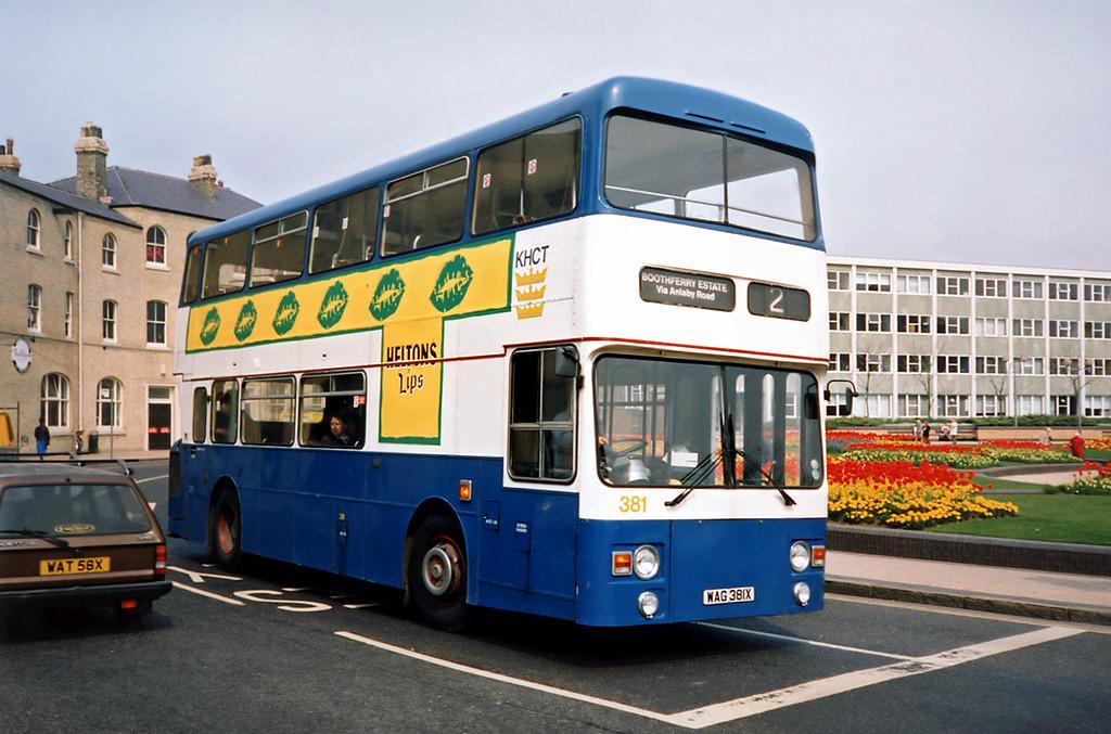 381 WAG381X, Hull 29/4/1991