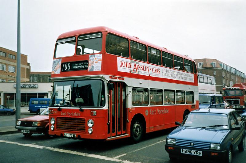 733 CPT733S, Hull 29/4/1991