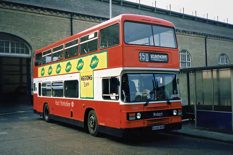 540 B249NVN, Hull 29/4/1991