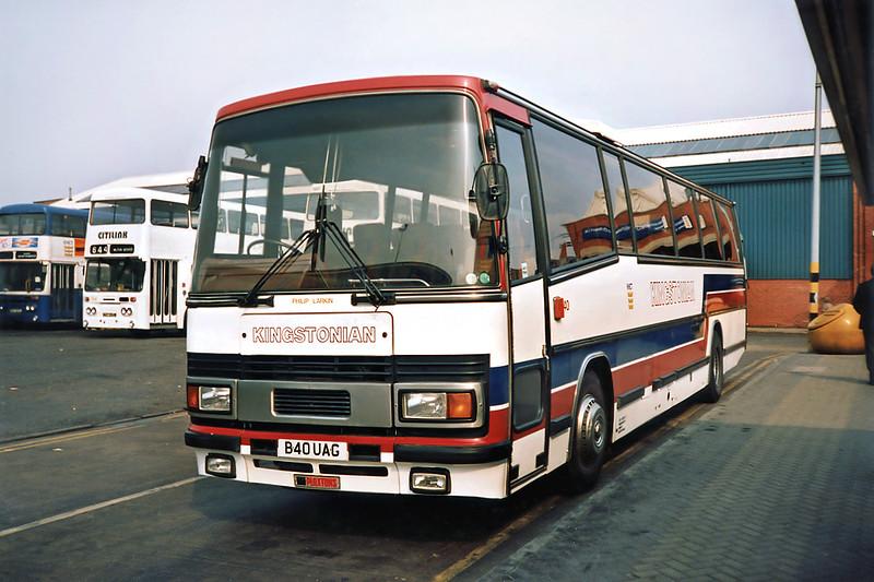 40 B40UAG, Hull 29/4/1991