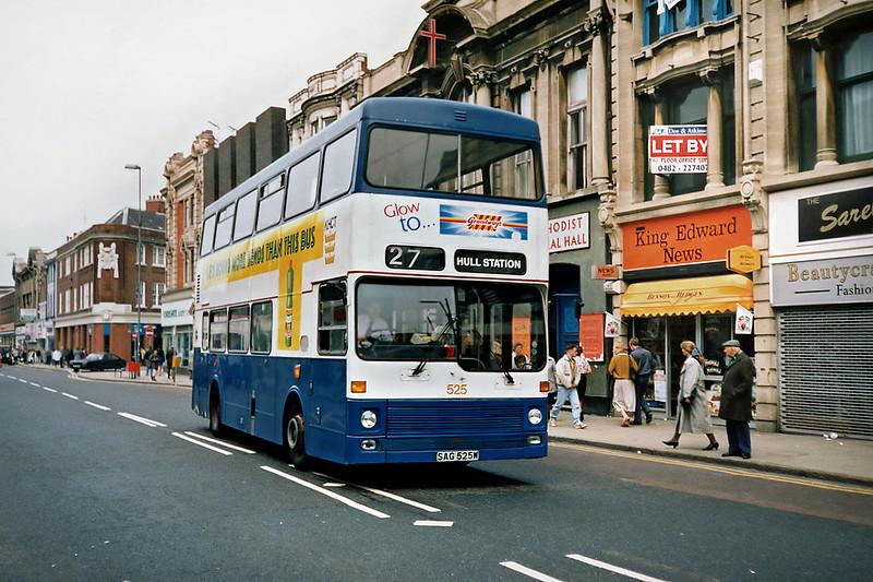 525 SAG525W, Hull 29/4/1991