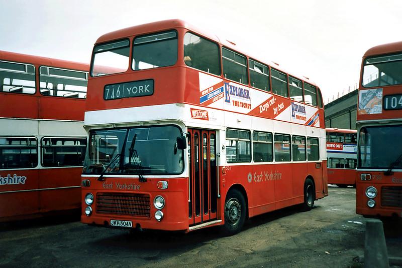 504 JKH504V, Hull 29/4/1991