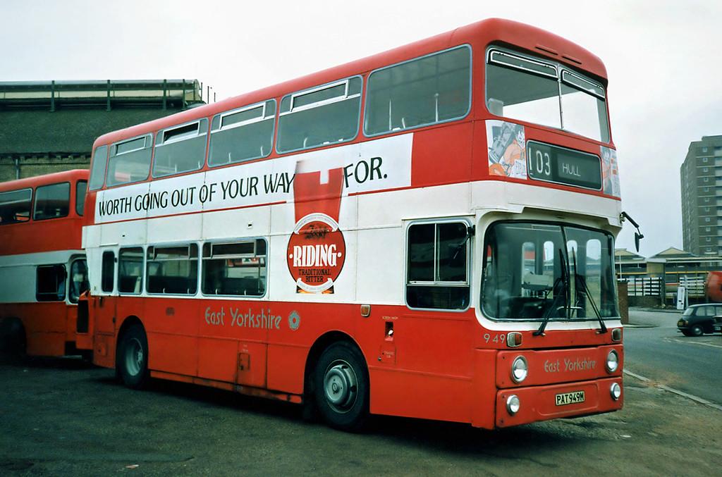 949 PAT949M, Hull 29/4/1991