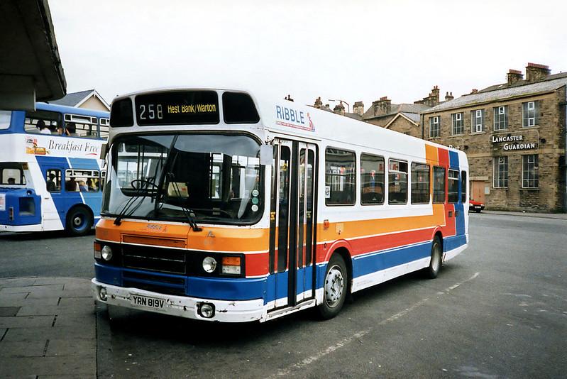 819 YRN819V, Lancaster 29/6/1991