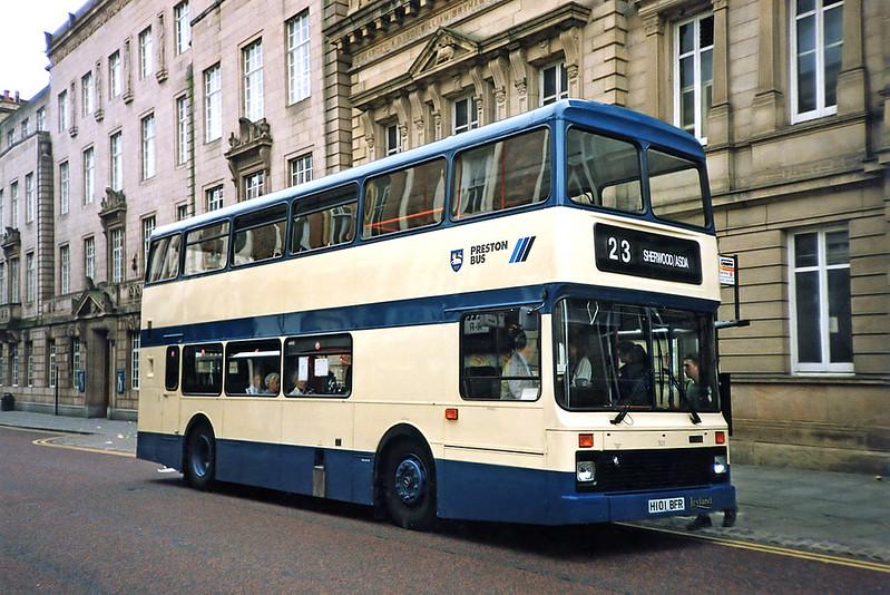 101 H101BFR, Preston 29/6/1991