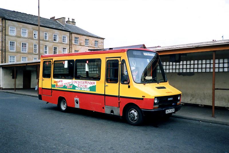 625 D625BCK, Lancaster 29/6/1991