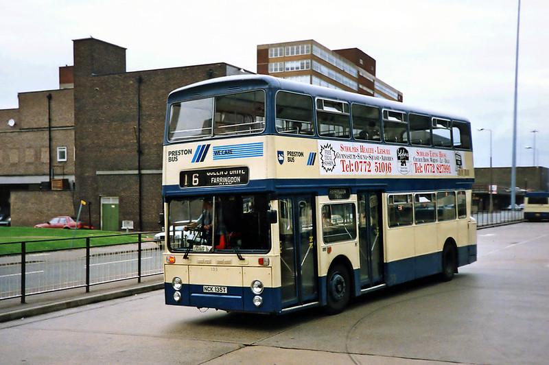135 NCK135T, Preston 29/6/1991