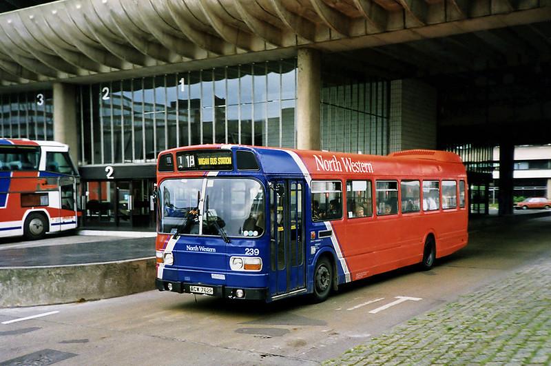 239 ACW762R, Preston 29/6/1991