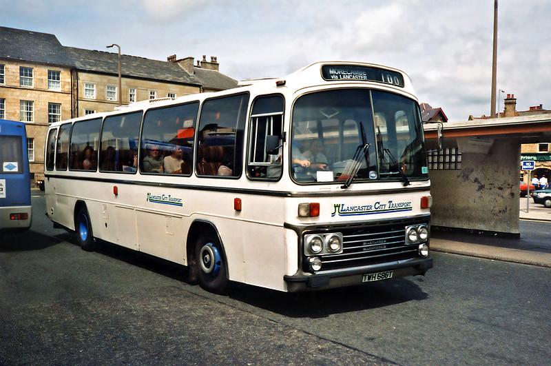 686 TWH686T, Lancaster 29/6/1991