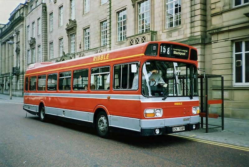 708 SCK708P, Preston 29/6/1991
