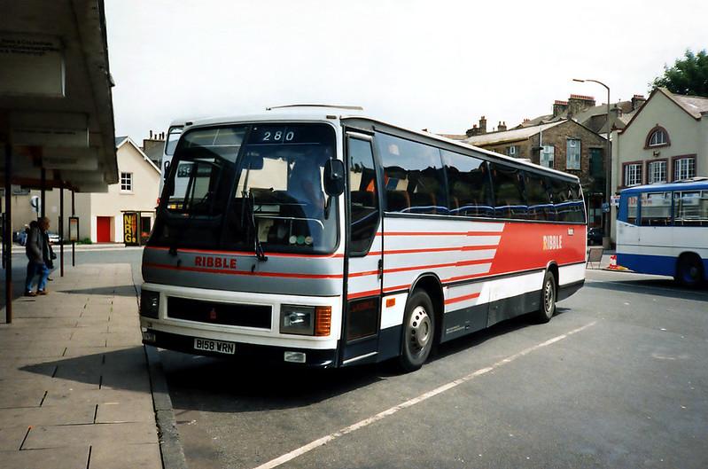 258 B158WRN, Lancaster 29/6/1991