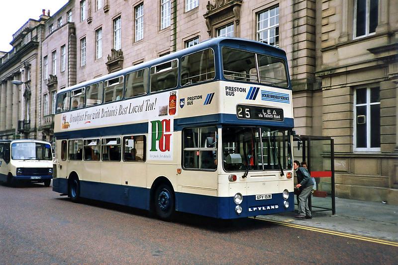 151 GFV151W, Preston 29/6/1991