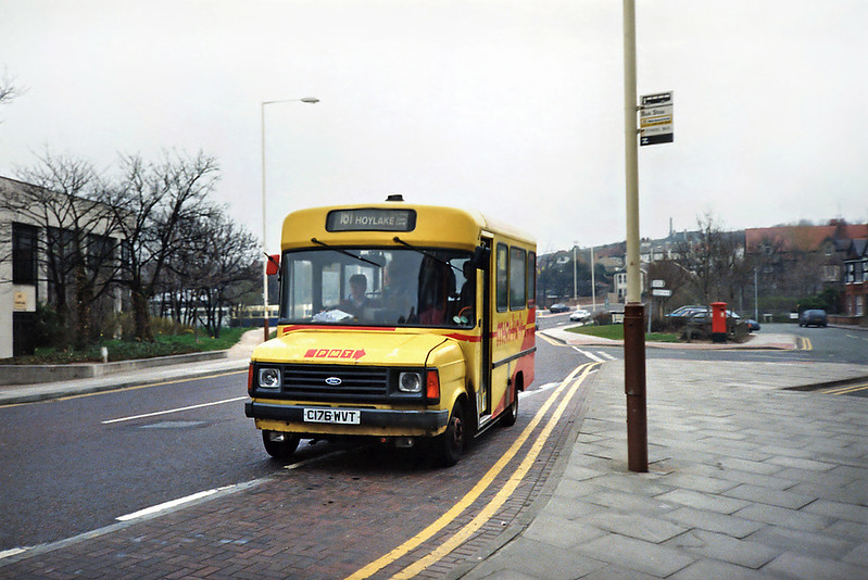 176 C176WVT, West Kirby 30/3/1991