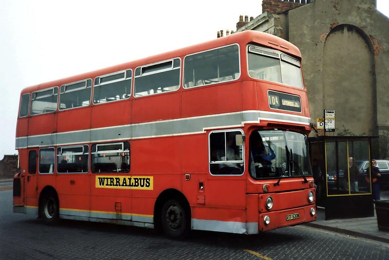 RTF630M, Birkenhead 30/3/1991