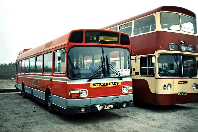 PTF724L, Birkenhead 30/3/1991