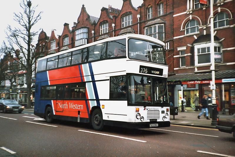 633 F633BKD, Southport 30/11/1991