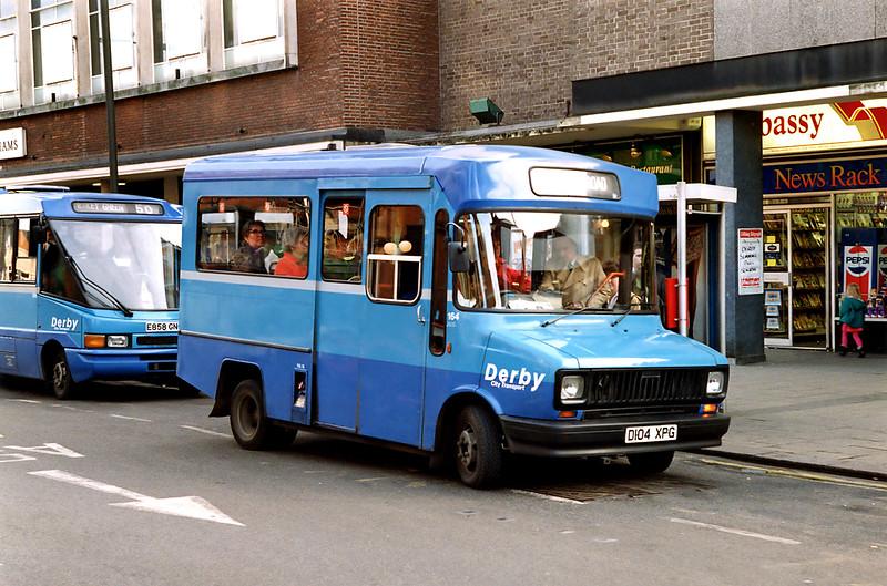 164 D104XPG, Derby 3/3/1992