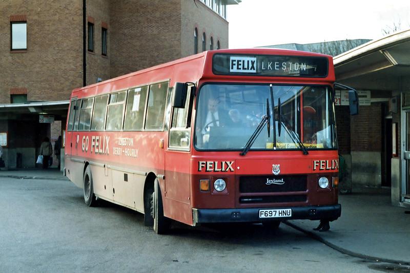 F697HNU, Derby 3/3/1992