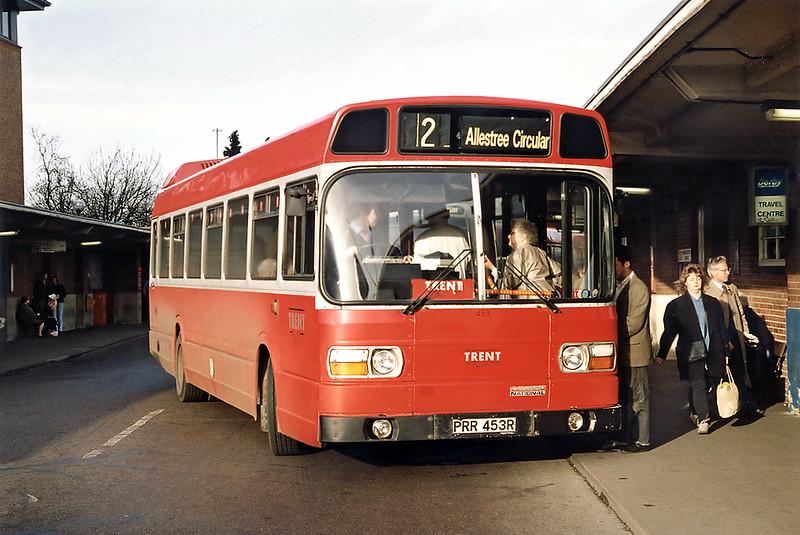 453 PRR453R, Derby 3/3/1992
