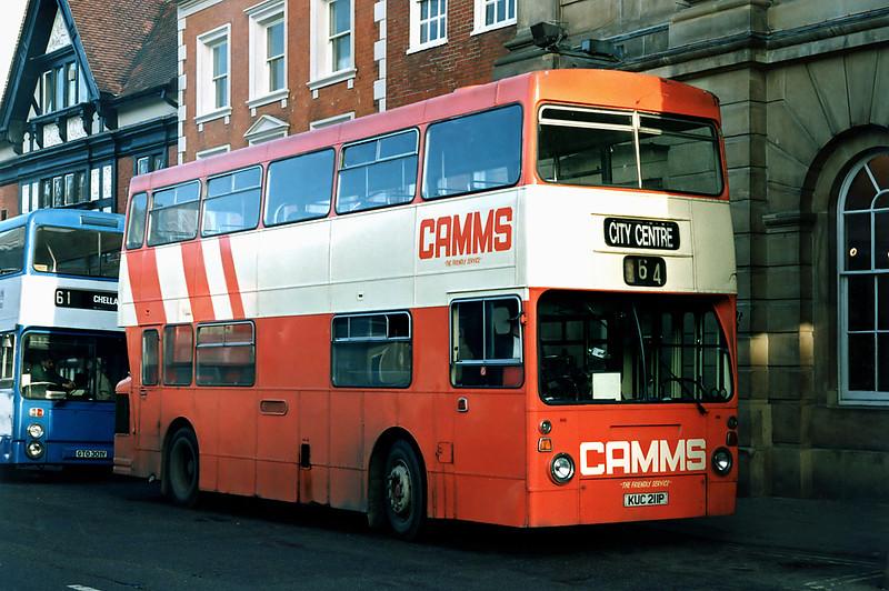 KUC211P, Derby 3/3/1992