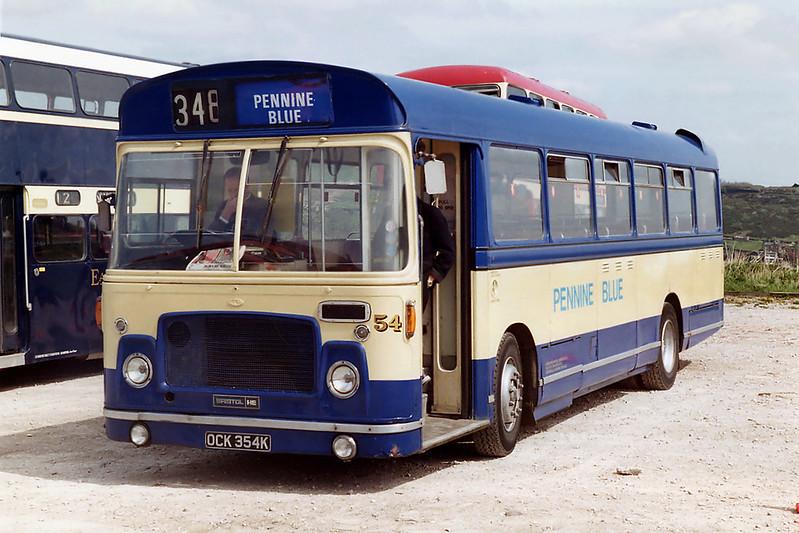 54 OCK354K, Ploughcroft 3/5/1992